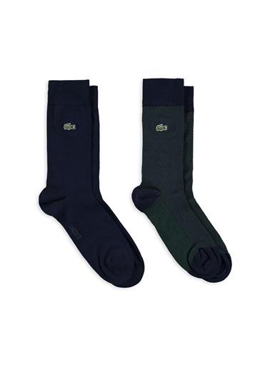 Lacoste 2'li Çorap Lacivert
